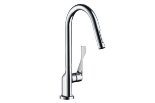 Axor Citterio Single Lever Kitchen Mixer with pull-out spray DN15  by  Axor