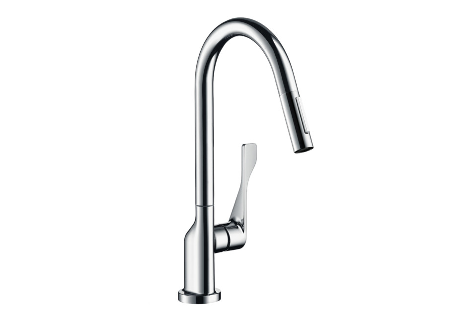 Axor Citterio Single Lever Kitchen Mixer with pull-out spray DN15