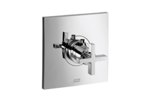 Axor Citterio Thermostatic Mixer for concealed installation with cross handle  by  Axor