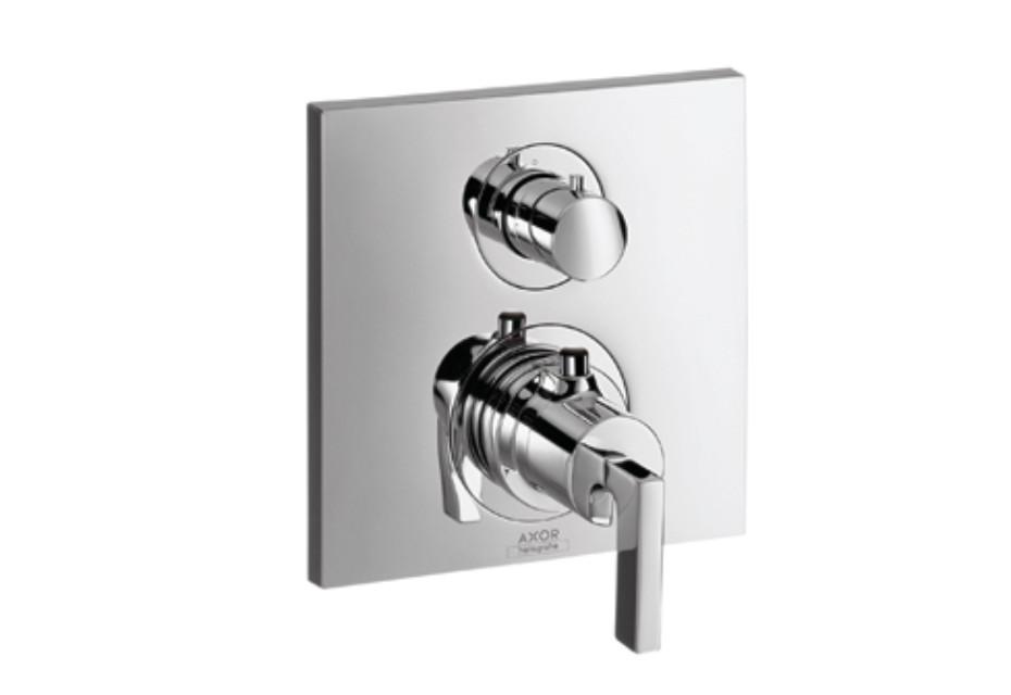 Axor Citterio Thermostat Unterputz mit Absperrventil mit Hebelgriff