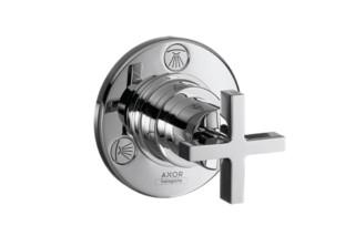 Axor Citterio Trio/ Quattro Absperr- und Umstellventil Unterputz mit Kreuzgriff DN20  von  AXOR