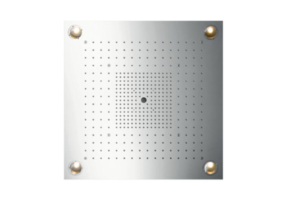 Axor ShowerCollection ShowerHeaven 72 x 72 DN20 mit Beleuchtung