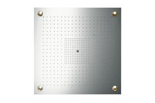 Axor ShowerCollection ShowerHeaven 97 x 97 DN20 mit Beleuchtung  von  AXOR