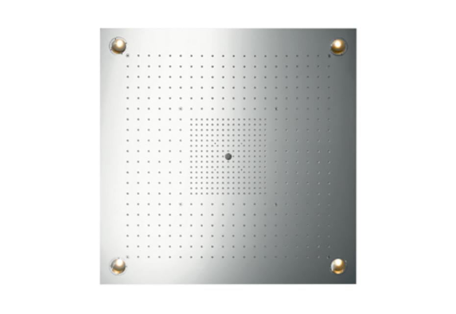 Axor ShowerCollection ShowerHeaven 97 x 97 DN20 mit Beleuchtung