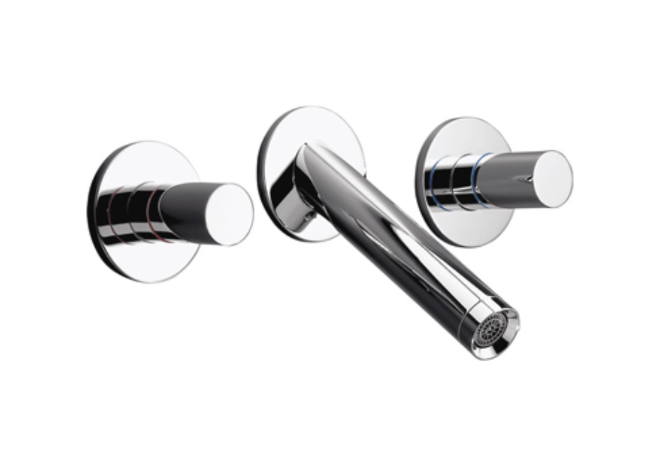 Axor Starck 3-Hole Basin Mixer for concealed installation DN15