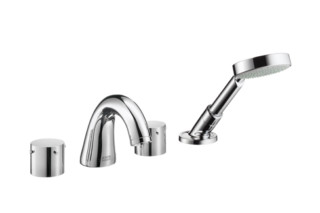 Axor Starck 4-Hole Rim-Mounted Bath Mixer DN15  by  Axor