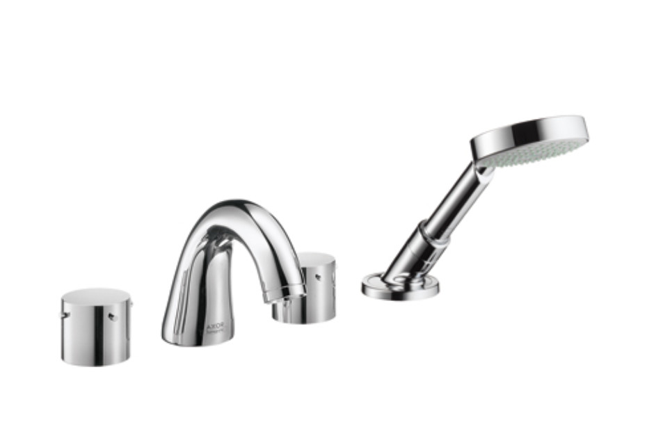 Axor Starck 4-Hole Rim-Mounted Bath Mixer DN15