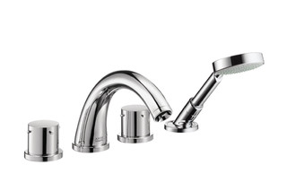 Axor Starck 4-Hole Tile Mounted Bath Mixer DN15  by  AXOR