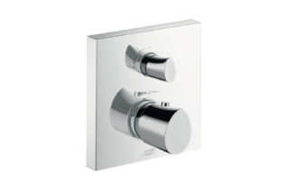 Axor Starck Organic Thermostatic Mixer for concealed installation with shut-off valve  by  Axor