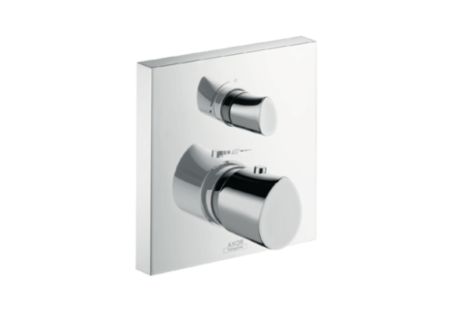 Axor Starck Organic Thermostat Unterputz mit Absperrventil