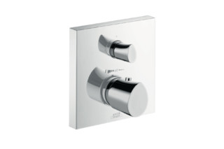 Axor Starck Organic Thermostatic Mixer for concealed installation with shut-off/diverter valve  by  Axor