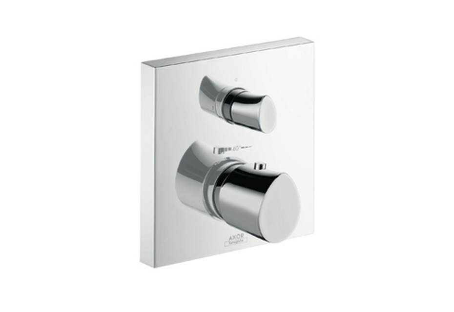 Axor Starck Organic Thermostatic Mixer for concealed installation with shut-off/diverter valve