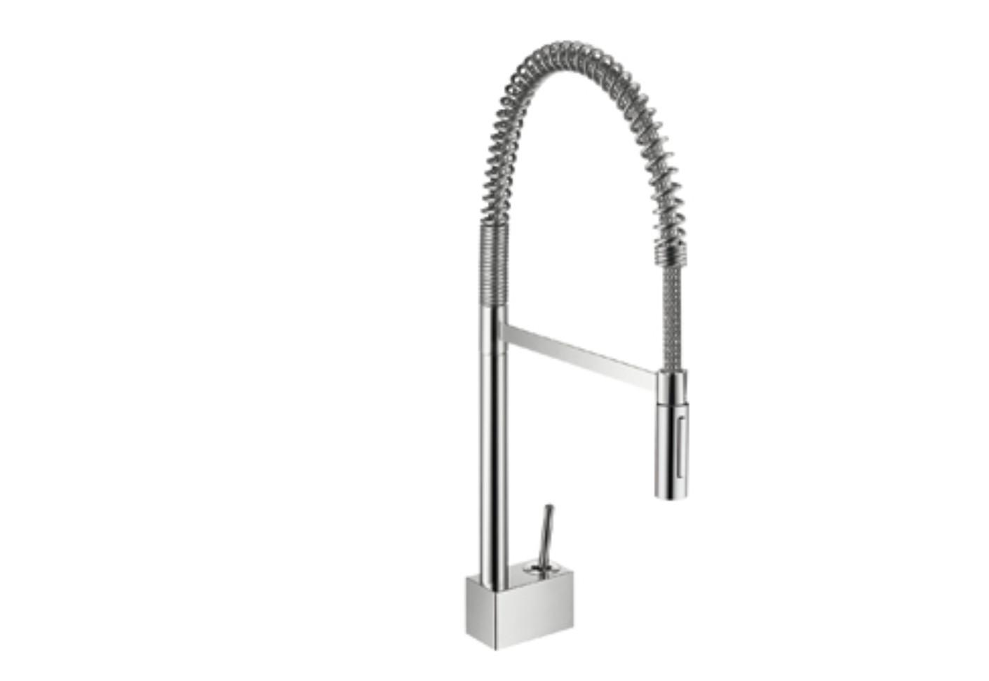 Axor Starck Semi-Pro Single Lever Kitchen Mixer DN15 by Axor | STYLEPARK