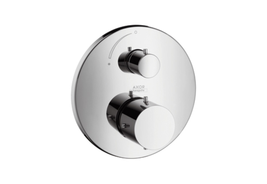 Axor Starck Thermostatic Mixer for concealed installation with shut-off valve