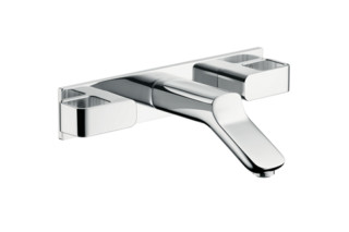 Axor Urquiola 3-Hole Basin Mixer DN15 for concealed installation, with spout 168mm  by  Axor