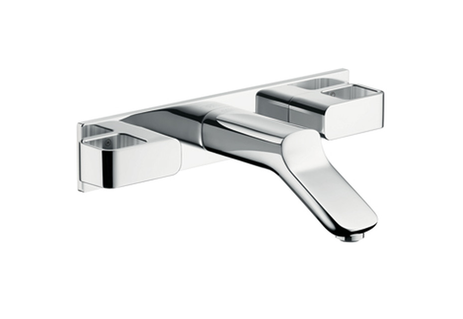 Axor Urquiola 3-Hole Basin Mixer DN15 for concealed installation, with spout 168mm