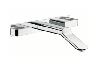 Axor Urquiola 3-Hole Basin Mixer DN15 for concealed installation, with spout 228mm  by  Axor