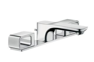 Axor Urquiola 3-Loch Waschtischarmatur DN15 mit Platte  von  AXOR