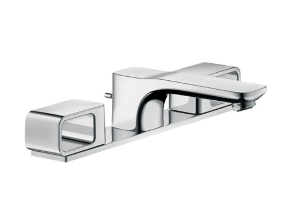 Axor Urquiola 3-Loch Waschtischarmatur DN15 mit Platte