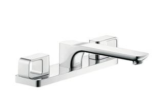 Axor Urquiola 3-Hole Rim-Mounted Bath Mixer DN15  by  AXOR