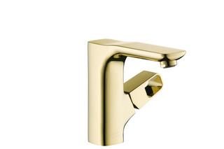 Axor Urquiola Single Lever Basin Mixer gold  by  AXOR