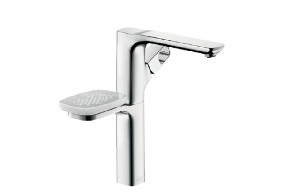 Axor Urquiola Einhebel-Waschtischmischer DN15 mit Halter, für Waschschüsseln