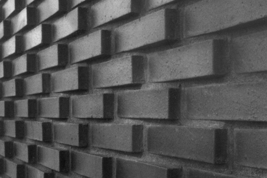 Contour brick, Lava