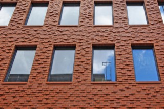 Contour bricks, Hotel H10, Berlin  by  Hagemeister