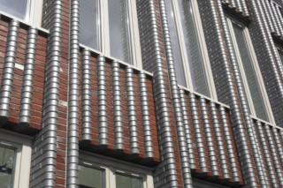 Contour bricks, Rijssen/Reggenborgh/Reggenfiber  by  Hagemeister