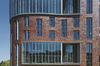 Facade bricks, Campus De Boelelaan, Amsterdam  by  Hagemeister