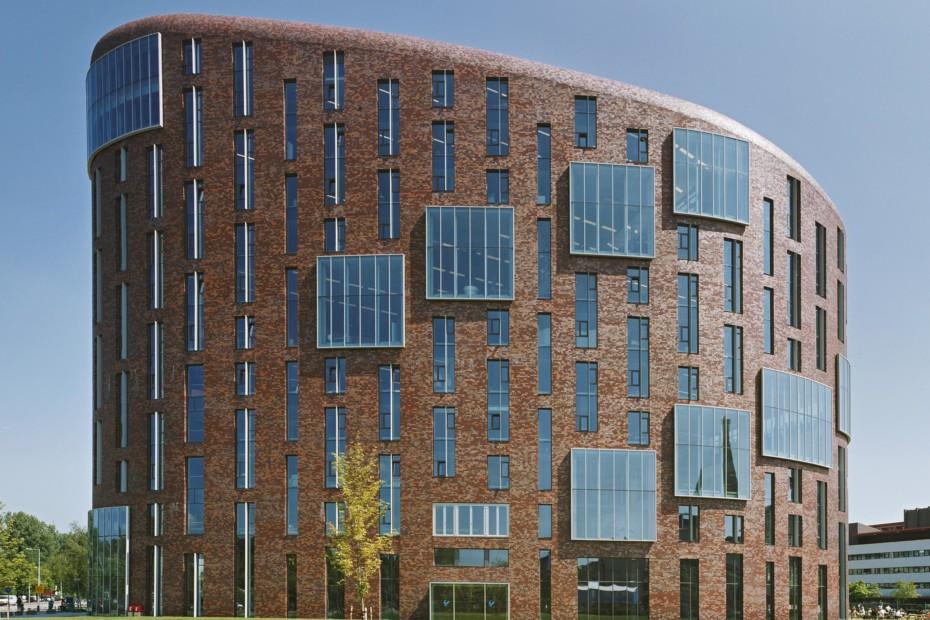 Facade bricks, Campus De Boelelaan, Amsterdam