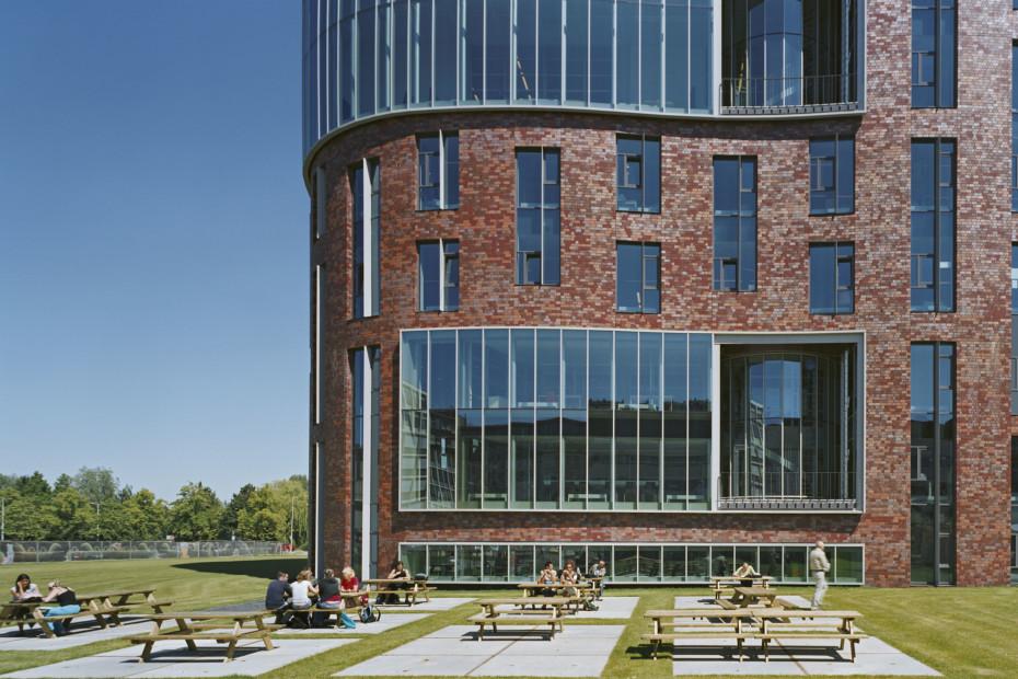 Facade Bricks Campus De Boelelaan Amsterdam By