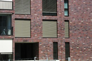 Facade bricks, City Park, Oberhof  by  Hagemeister
