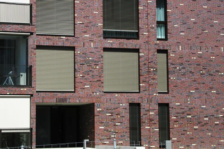 Facade bricks, City Park, Oberhof