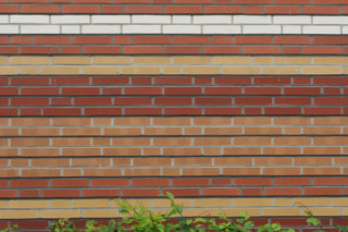 Facade bricks, Energy-saving housing estate, Münster  by  Hagemeister