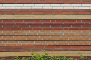Facade bricks, Energy-saving housing estate, Münster  by  Hagemeister