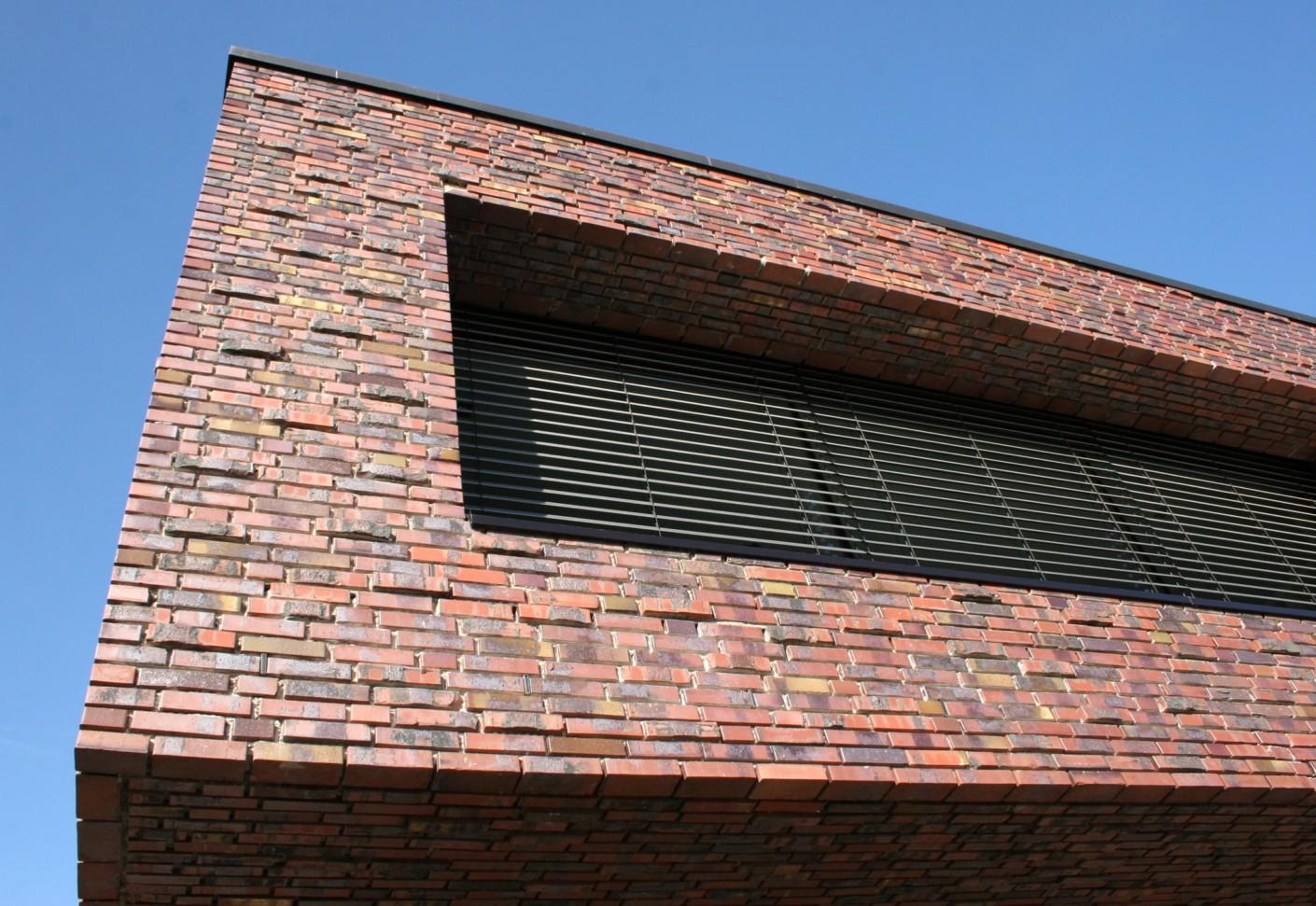 Facade Bricks Office Building Neuenkirchen By
