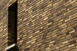Facade bricks, Residential community, Frankfurt  by  Hagemeister
