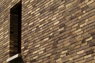 Facade bricks, Residential community, Frankfurt  by  Hagemeister