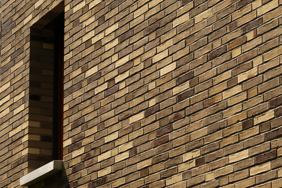Facade bricks, Residential community, Frankfurt