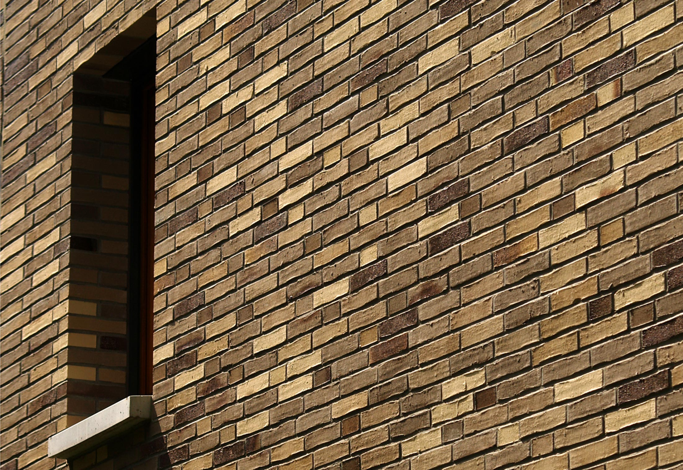Facade Bricks Residential Community Frankfurt By