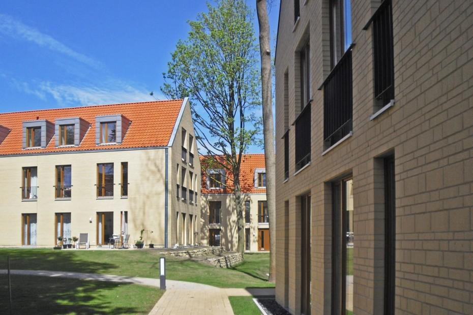 Format-Mix bricks, Houthscher Garden, Steinfurt