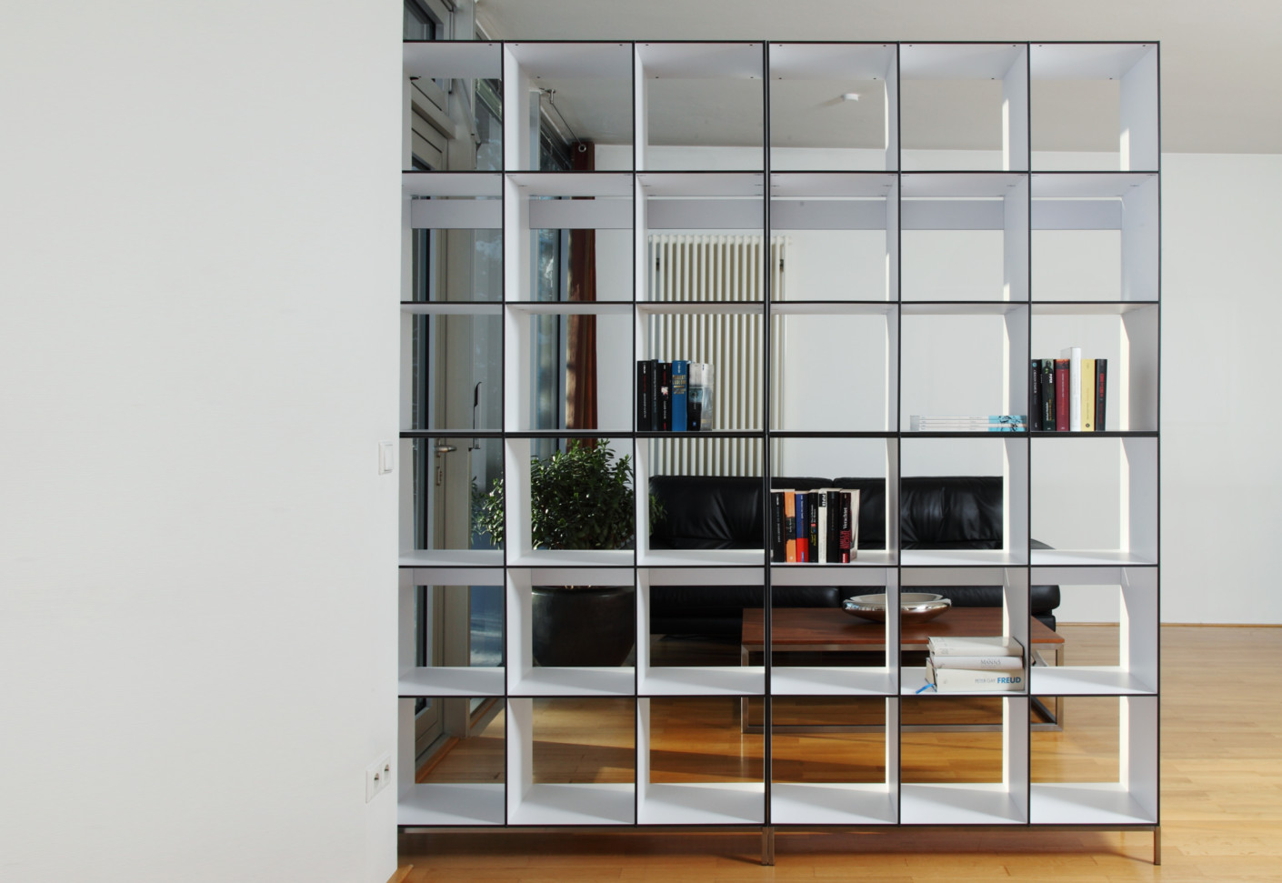 Office contract furniture storage shelving shelf systems - Hp 9 Library By Hans Hansen Stylepark