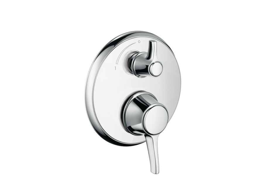 Ecostat Classic Thermostatic Mixer for concealed installation with shut-off valve