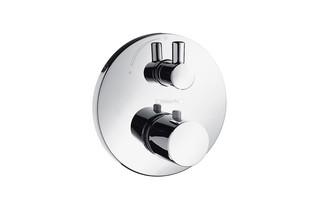 Ecostat S Thermostat Unterputz mit Absperrventil, DN15  von  hansgrohe