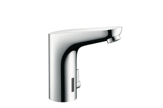 Focus Electronic Basin Mixer, DN15, with temperature control  by  Hansgrohe