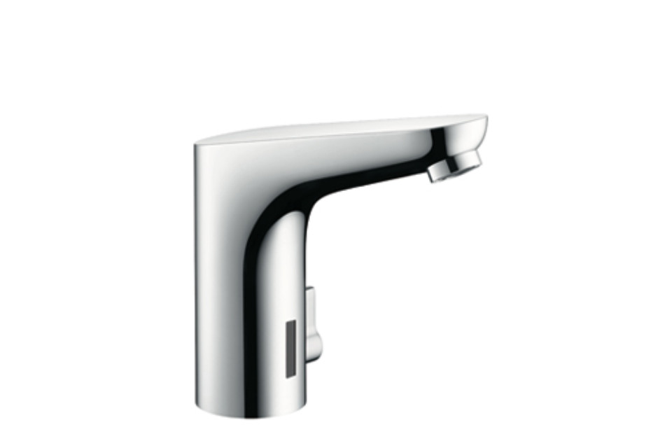 Focus Electronic Basin Mixer, DN15, with temperature control