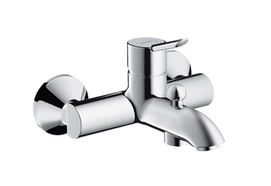 Focus S Single Lever Bath Mixer, DN15, for exposed fitting