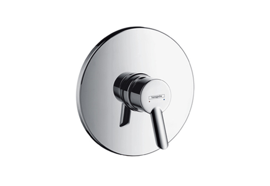 Focus S Single Lever Shower Mixer, for concealed installation