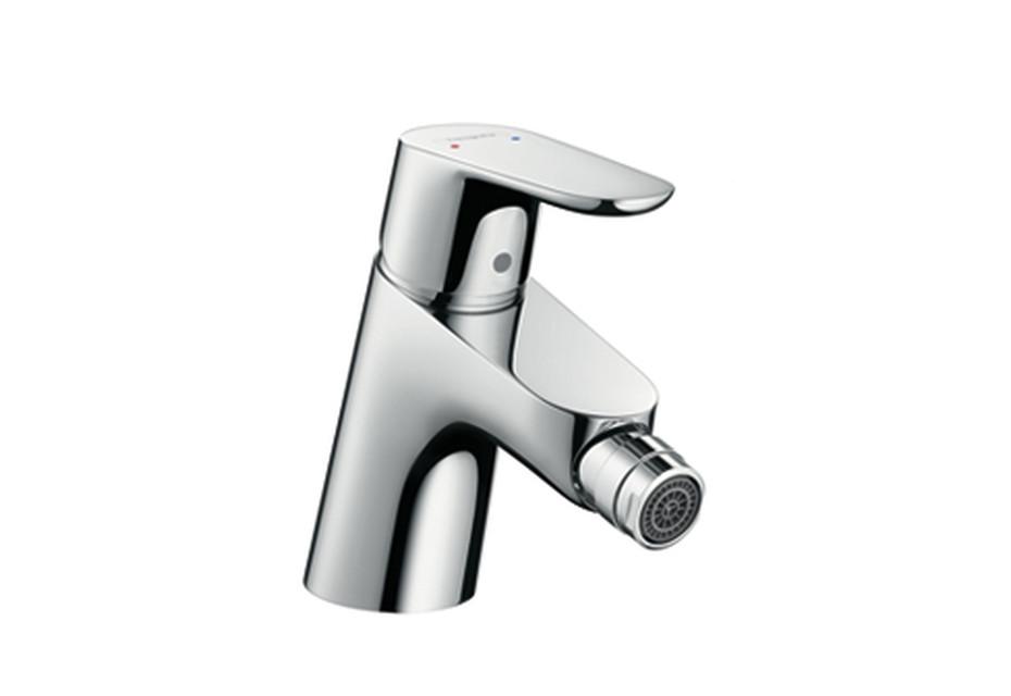 Focus single lever bidet mixer, DN15